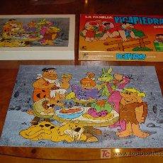 Puzzles: PUZZLE LA FAMILIA PICAPIEDRA. HANNA BARBERA. BORRAS. AÑOS 70. REF. 2242. Lote 26977413