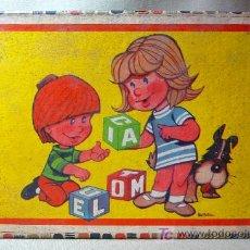 Puzzles: ROMPECABEZAS, CUBOS DE CARTON, AÑOS 60, COMPLETO, . Lote 23159175