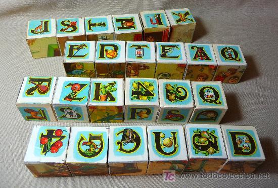 Puzzles: ROMPECABEZAS, CUBOS DE CARTON, AÑOS 60, COMPLETO, - Foto 6 - 23159175