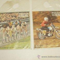 Puzzles: LOTE 2 PUZZLES OBSEQUIO CERA NOVA CELINA AÑO 1973, NUEVOS. Lote 26953072