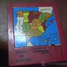 Puzzles: ROMPECABEZAS- PUZZLER.- MAPA DE ESPAÑA-CON SUS COMUNIDADES-. Lote 26241835