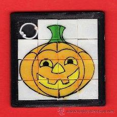 Puzzles: MINI ROMPECABEZAS/BARATIJA CALABAZA - HALLOWEEN - FAB. PLASTIC TOYS- 6 X 6.- SIN ESTRENAR-AÑOS 70/80. Lote 22318498