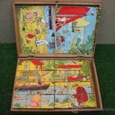 Puzzles: PUZZLE DE CUBILETES (LES CUBES HUMORISTIQUES). Lote 22829346