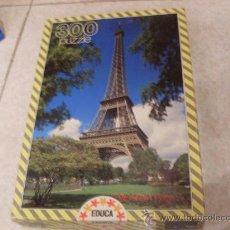 Puzzles: TORRE EIFFEL PUZZLE 300 PIEZAS. Lote 23286597