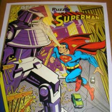 Puzzles: SUPERMAN - PUZZLE - COMPLETO, CON 150 PIEZAS - MADE IN SPAIN - BORRAS 1979. Lote 25260130