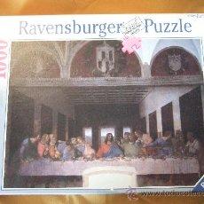 Puzzles: PUZLE 1000 PIEZAS - LA ULTIMA CENA - MARCA RAVENSBURGER - MIDE 70X50 HECHO. Lote 27616012