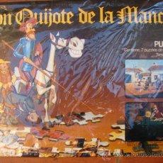 Puzzles: 2 PUZZLES DON QUIJOTE DE LA MANCHA - BORRAS. Lote 25707809