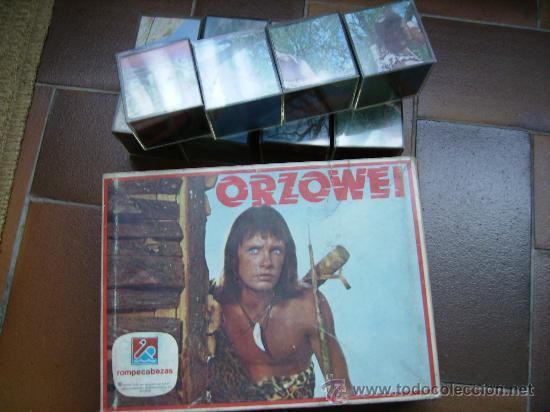 ROMPECABEZAS DE ORZOWEI FAMOSO EN 1979 DE DALMAU PERFECTO (Juguetes - Juegos - Puzles)