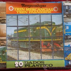 Puzzles: ROMPECABEZAS 20 DADOS TRENES DE RENFE. Lote 26884400