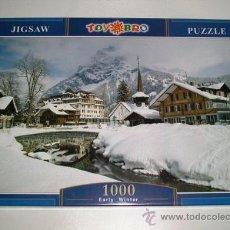 Puzzles: PUZZLE 1000 PIEZAS EARLY WINDER 75X50 CM - NUEVO A ESTRENAR. Lote 27067428