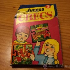 Puzzles: JUEGOS CRECS; PUZZLE, Nº 3 (PAISAJE CAMPESTRE). Lote 27522404