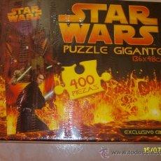 Puzzles: PUZZLE GIGANTE 400 PIEZAS **STAR WARS** 136 X 48 CM. (AÑO 2005). Lote 91980150