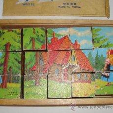 Puzzles: (H) BONITO PUZZLE PUZLE DE CUBOS DE MADERA. Lote 28119253