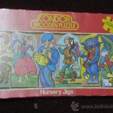 Puzzles: ANTIGUO PUZZLE - WOODEN PUZZLE CONDOR. Lote 28562462