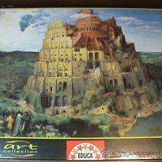 Puzzles: PUZZLE DE 1500 PIEZAS EDUCA - LA TORRE DE BABEL - ART COLLECTION. Lote 29006928
