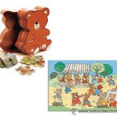 Puzzles: PUZZLE SILUETA OSITO 24 PIEZAS DJECO 42X30 - ARTICULO NUEVO. Lote 29488810