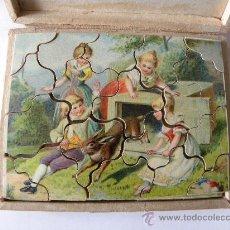 Puzzles: PUZLE PUZZLE ANTIGUO MADERA MUY BONITO Nº 1. Lote 29687995