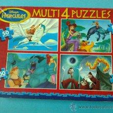Puzzles: MULTI 4 PUZZLES EDUCA. Lote 30484259