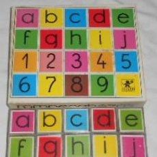 Puzzles: PUZZLE O ROMPECABEZAS DE CUBOS DE BORRÁS, ABECEDARIO Y NÚMEROS. Lote 186431853