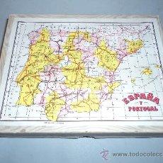 Puzzles: CAJA CON PUZZLE DE ENRIQUE BORRÁS Y CÍA.. Lote 30968917