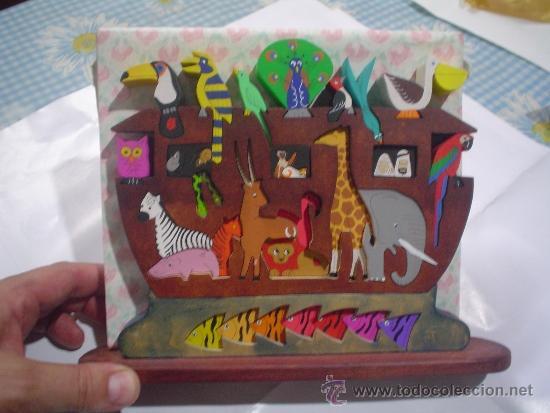Arca De Noe Puzles Rompecabeza Animales Madera Comprar Puzzles