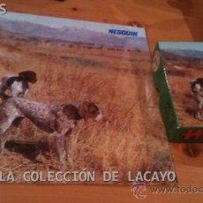 Puzzles: PUZZLE GRANDE PERRO DE CAZA OBSEQUIO NESQUIK, DE EDUCA AÑOS 70 NUEVO. Lote 31519621