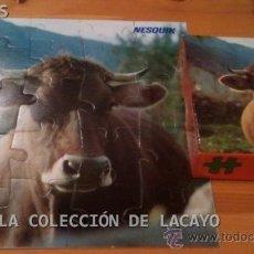 Puzzles: PUZZLE GRANDE VACA OBSEQUIO NESQUIK, DE EDUCA AÑOS 70 NUEVO. Lote 31519775