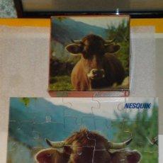 Puzzles: PUZZLE VACA NESQUIK. Lote 31915066