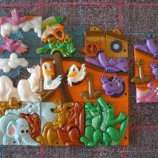 Puzzles: PUZZLE, PUZLE HUEVOS KINDER. Lote 31963406