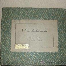 Puzzles: PUZZLES ANTIGUOS DE MADERA. Lote 32725257