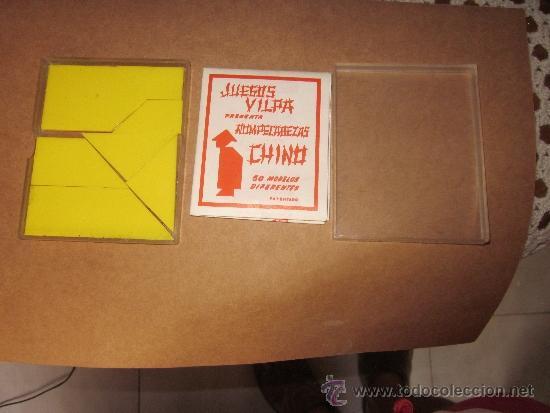 Rompecabezas chino juegos vilpa a os 60 caja or comprar puzzles antiguos en todocoleccion - Caja rompecabezas ...