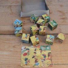 Puzzles: ROMPECABEZAS ANTIGUO DE CARTON AÑOS 40. Lote 33386315
