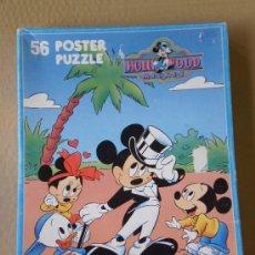 Puzzles: PUZZLE DE 56 PIEZAS HOLLYWOOD MICKEY ( THE WALT DISNEY COMPANY ) . DESCATALOGADO . AÑOS 80 . . Lote 33632184
