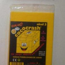 Puzzles: ROMPECABEZAS COCOCRASH (HAPPY CUBE) DE EVALAND. NIVEL 3, AMARILLO. PRECINTADO. Lote 34637040