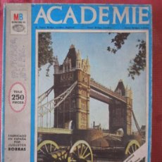 Puzzles: MB ACADEMIE TEILE 250 PIECES AÑO 1971 FABRICADO EN ESPAÑA POR BORRAS. Lote 33779993