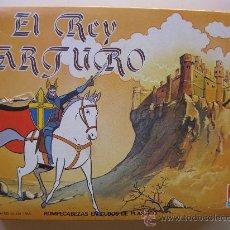 Puzzles: EL REY ARTURO - TOEI ANIMATION - ROMPECABEZAS DE CUBOS DE PLÁSTICO - DALMAU CARLES PLA - AÑO 1984.. Lote 34638882