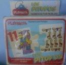 Puzzles: 24 MINI PUZLES DE 2 PIEZAS DE PLAY SKOOL LOS PITUFOS PEYO,AÑO 1983.SIN ESTRENAR.. Lote 34986456