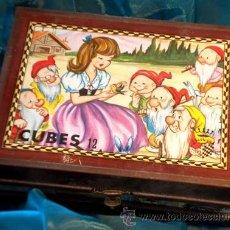 Puzzles: ANTIGUO Y CURIOSO PUZZLE VINTAGE DE CUBOS. Lote 36879893