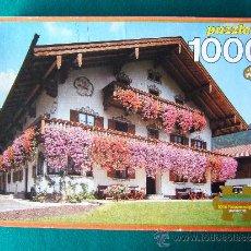 Puzzles: PUZZLE 1000 - JUEGO - EDUCA - 38X29X4 CM - DE UNA SUNTUOSA MANSION BAVARA - COMPLETO - AÑO 1990.. Lote 36949768