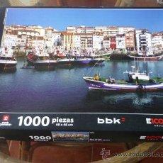 Puzzles: PUZLE EDUCA 1000 PIEZAS PUERTO DE LEKEITIO - BIZKAIA- 68X48CM . Lote 37009018
