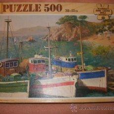 Puzzles: ANTIGUO PUZLE DE 500 PIEZAS DE MADERA CON PINTURA Y CAJA ORIGINALES - EDUCA - 38X57. Lote 37096005