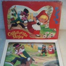 Puzzles: PUZZLE CAPERUCITA ROJA DE PLAVEN. Lote 37203580
