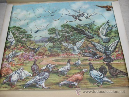 Puzzles: Juego de mesa - Puzzle de aves de cartón - Foto 2 - 37420268