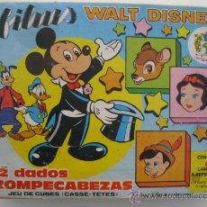 Puzzles: ANTIGUO ROMPECABEZAS DE CUBOS DE PLÁSTICO - FILMS - WALT DISNEY - JUGUETES PIQUÉ.. Lote 37568940