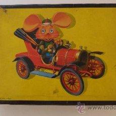 Puzzles: TOPO GIGIO .PUZZLE ROMPECABEZAS CUBOS. EDIGRAF 1966 . 3 LÁMINAS. Lote 37733483