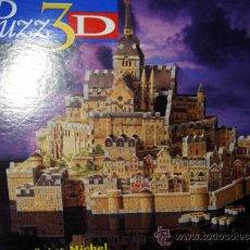 Puzzles: PUZZLE 3D MONTE SAINT MICHEL. Lote 37847651