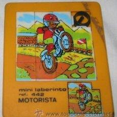 Puzzles: PUZZLE MINI LABERINTO Nº 442, MOTORISTA. Lote 109135468
