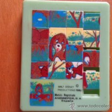 Puzzles: ANDREFER S.A VALTA DISNEY C PRODUCTIONS 1980 ESPAÑA, . Lote 38497575
