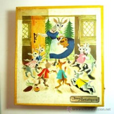 Puzzles: CAJA DE 3 JIGSAW PUZZLE - CONTES DE GRIMM - EDIT. CASTERMAN - FRANCIA 50'. Lote 38518917