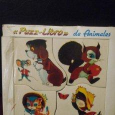 Puzzles: PUZZLE - PUZZ-LIBRO DE ANIMALES - 4 CUENTOS PUZZLE - PUBLICACIONES FHER. Lote 38783324
